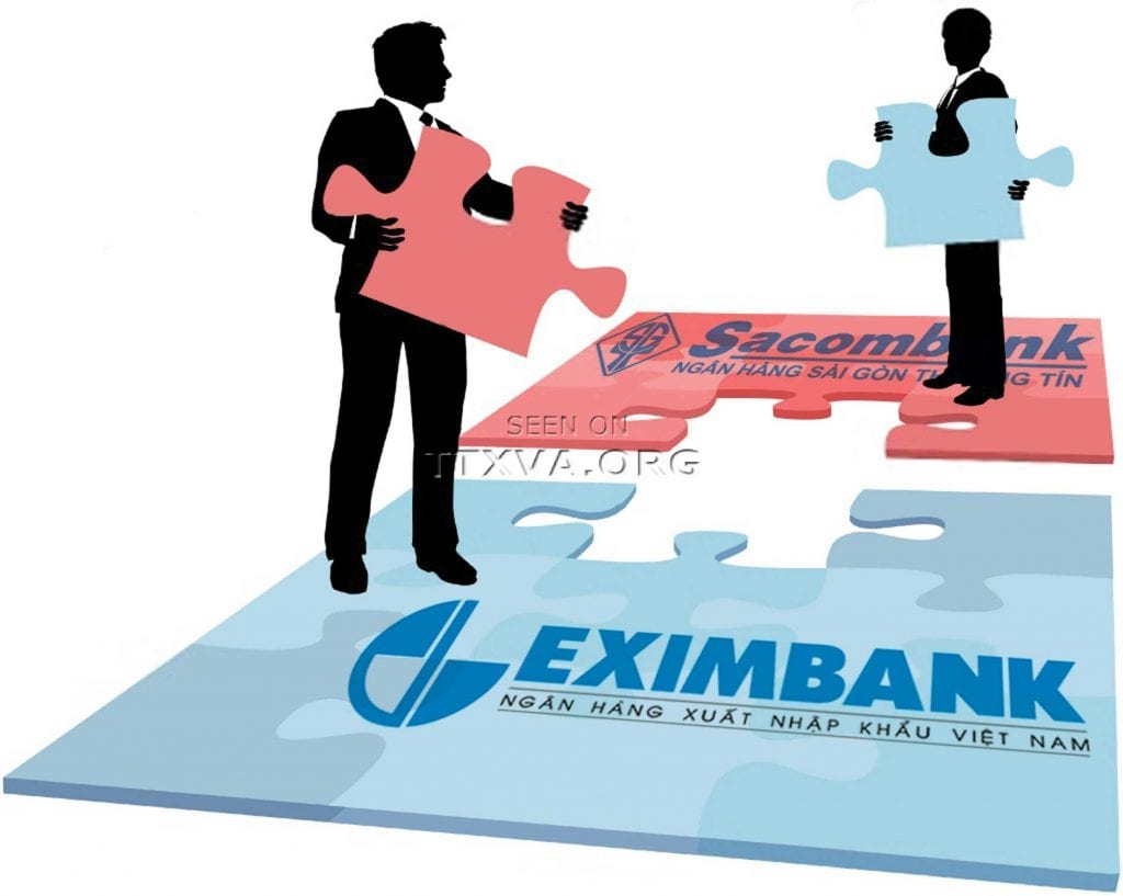 Eximbank Sacombank Duong ve mot nha