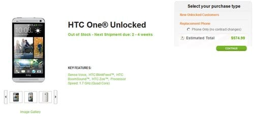 htc one co gia chua den 12 trieu dong o my